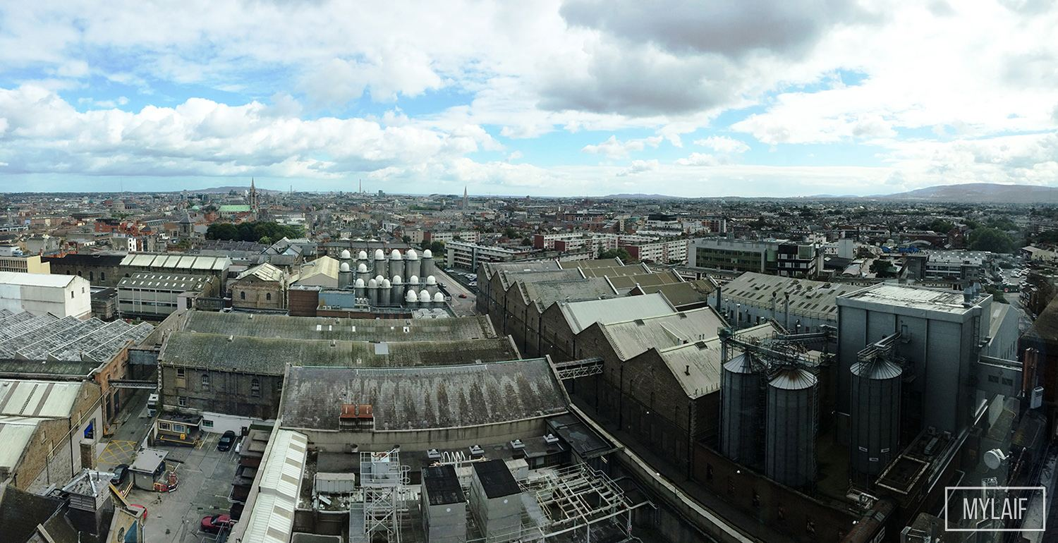 Dublin desde The Gravity Bar